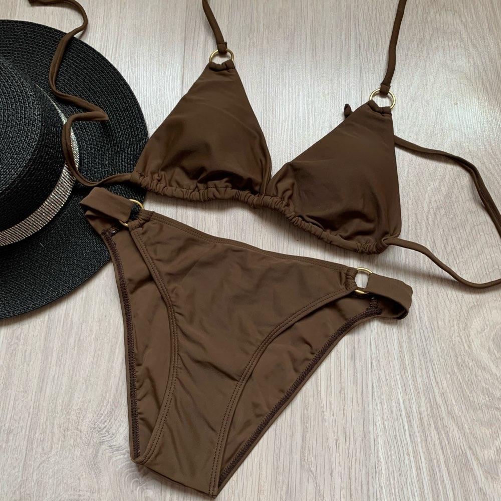 Swimwear Women Swimsuit Sexy Bikini 2020 New Push Up Bikini Set Bathing Suit Women Print Floral Beach Wear Bandage Summer Bather Bikini Set    - AliExpress