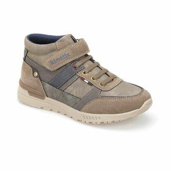 FLO TESLA brązowe męskie buty sportowe dla dzieci KINETIX tanie i dobre opinie ALLIGATOR Korka Chłopcy
