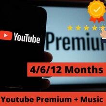 Yoututbe Premium 4/6/12 miesięcy działa w Android i IOS