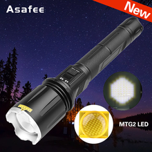 New LED Flashlight USB…