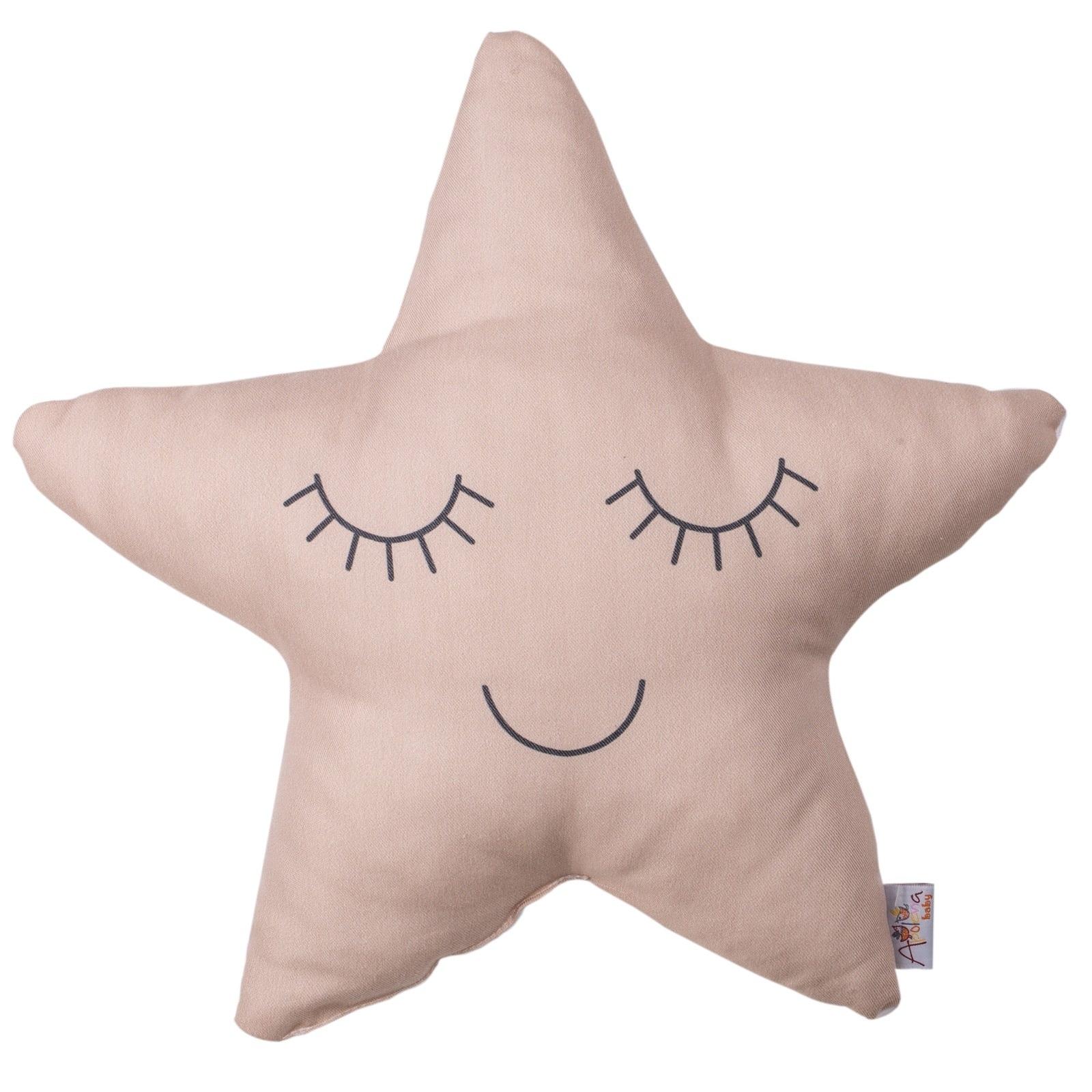 Ebebek Apolena Star Toy Baby Pillow 38x38x10 Cm