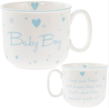 Mug newborn 180 ml mug lefard 360 ml with pattern