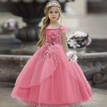 Vestido de novia Chica adolescente para niña, traje de ceremonia elegante para...