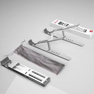 Image 5 - LINGCHEN dizüstü standı MacBook Pro dizüstü standı katlanabilir alüminyum alaşım Tablet standı braketi dizüstü bilgisayar tutucu dizüstü