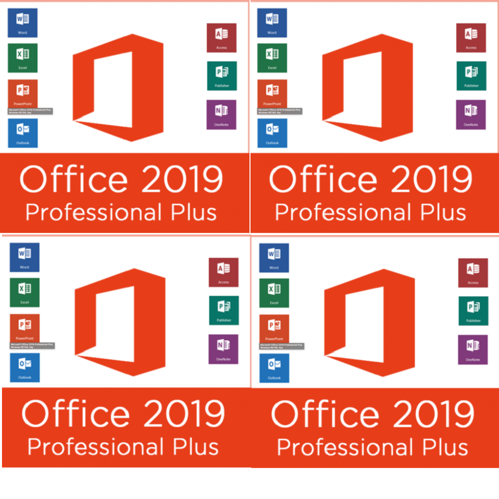 Microsoft Office 2019 Pro Plus Lifetime Download For Windows Supporting 32 Bit And 64 Bit & Mac