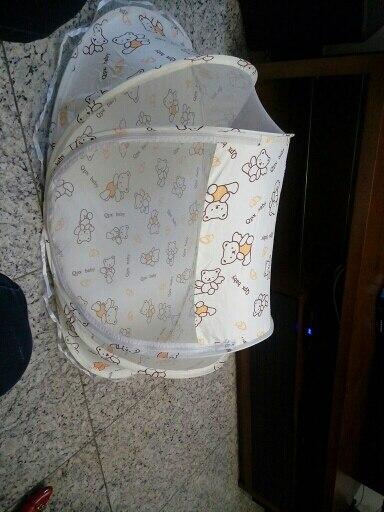 Mosquiteiro para berço Travesseiro Travesseiro Portátil