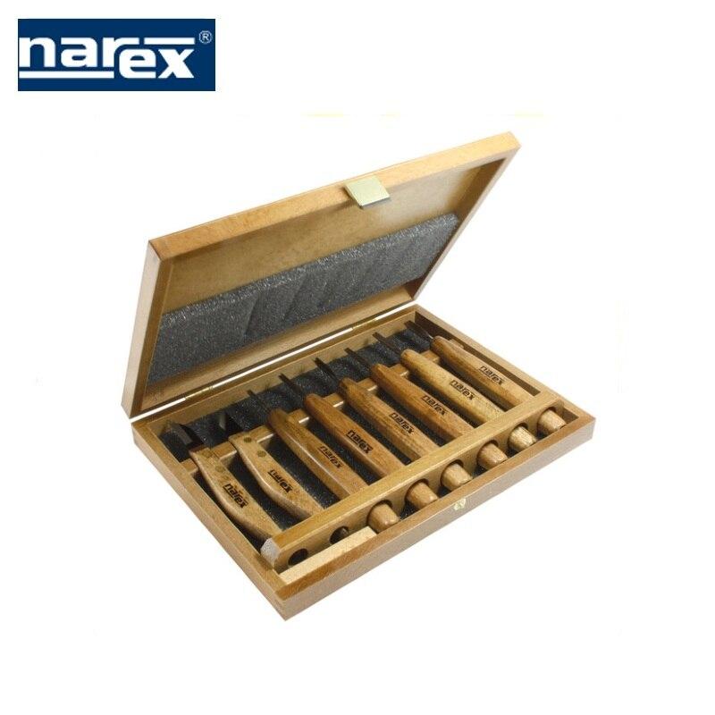 Фото - A set of 6 incisors + 2 knives in the village. box Profi, Narex wood carving  Feret rezchitskih professional woodworking semici 3d wood carving machine price cnc