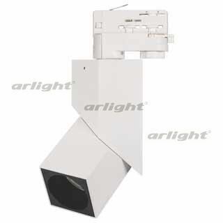 026764 Lamp LGD-TWIST-TRACK-4TR-S60x60-12W Warm3000 (WH-BK, 30 Deg) ARLIGHT