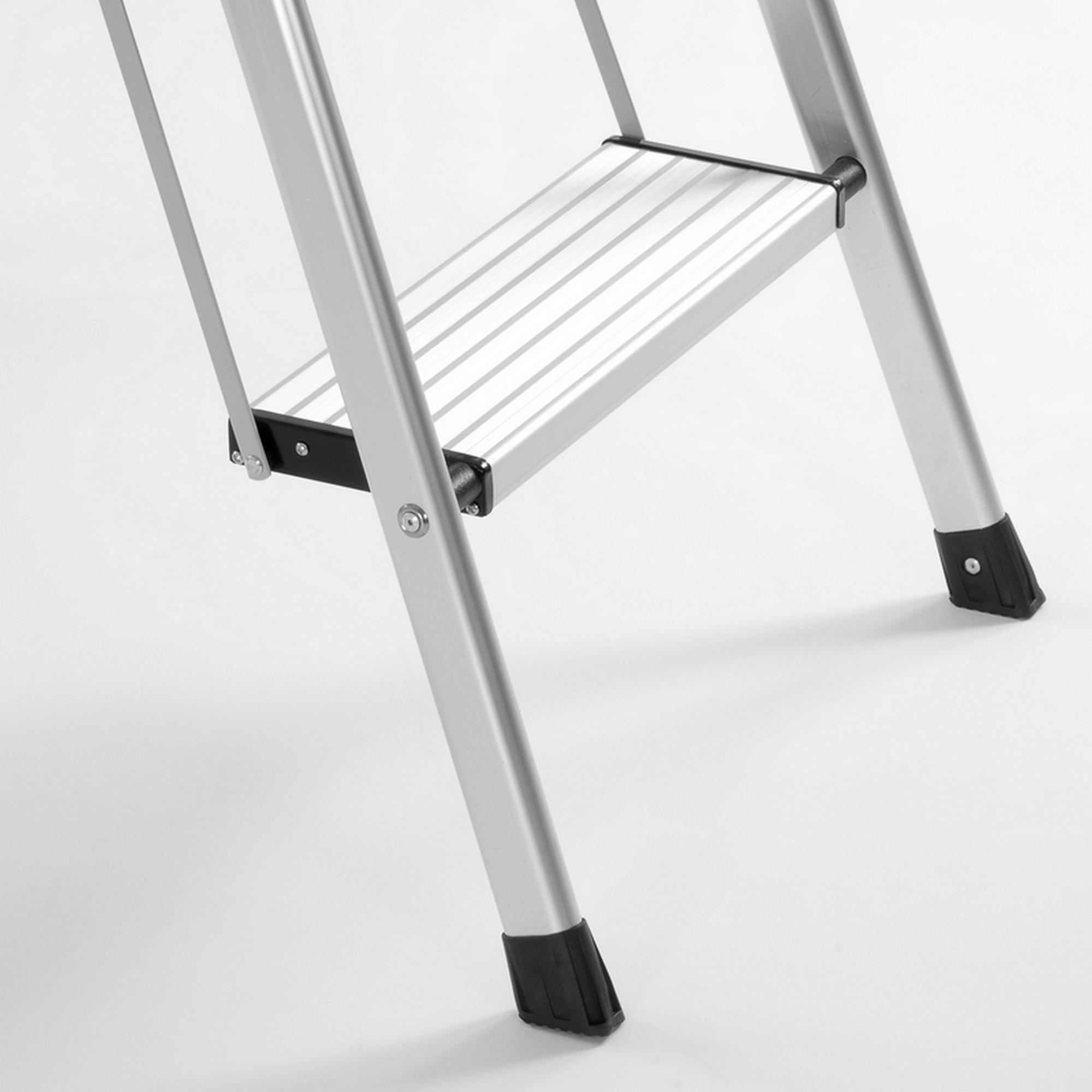 Outstanding Big Sale 95674 Barneo St 23 Ladder Aluminum 3 Steps Of Inzonedesignstudio Interior Chair Design Inzonedesignstudiocom
