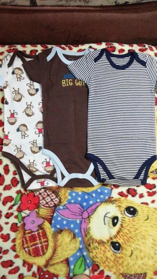 Mother Nest 3 Pieces/lot Fantasia Baby Bodysuit Infant Jumpsuit  Overall Short Sleeve Body Suit Baby Clothing Set Summer Cotton|suit piece|suit tailorcotton printed dress material - AliExpress