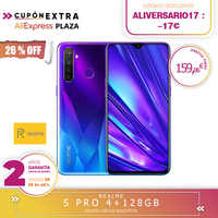 [Offizielle Spanisch Version Garantie] Realme 5 Pro Smartphone mobile tags, 6,3 ''4 harte gb 128 gb ROM Snapdragon octa core, Quad Camara