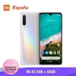 [Wersja globalna dla hiszpanii] Xiao mi mi A3 (pamięci wewnętrzne de 64 GB, pamięci RAM de 4 GB, potrójne kamera) Móvil 3