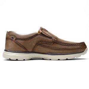 Image 3 - DEVE Hakiki Deri Erkek rahat ayakkabılar Adam Rahat Ayakkabılar Yumuşak Inek Derisi Nefes Erkek Daireler mokasen cuir homme
