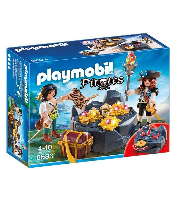 Playmobil 6683 Hiding Treasure Pirate Toy Store Articles Created Handbook