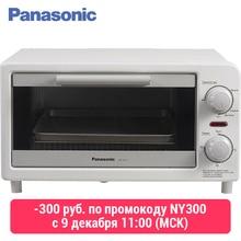 Panasonic NT-GT1WTQ Мини-печь, тостер, 3л, мощность 1090-1310 Вт, регулировка температуры и времени, таймер, двусторонний нагрев, одновременное поджаривание 2 тостов, выдвижной лоток для крошек, звуковой сигнал