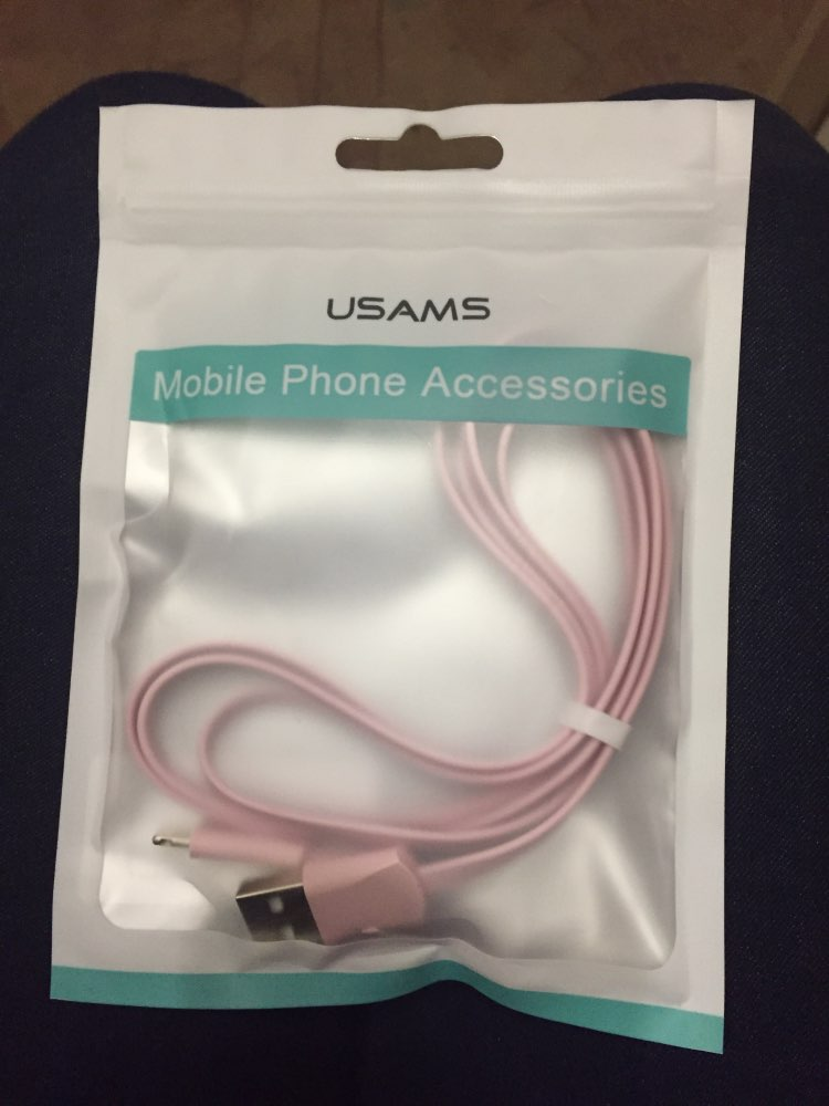 USAMS USB Cable Fast Charging Mobile Phone Cable for iPhone XS XR 2A Charging Data Sync Cord for iPhone 8 iPad Cable for iOS 12-in Mobile Phone Cables from Cellphones & Telecommunications on AliExpress