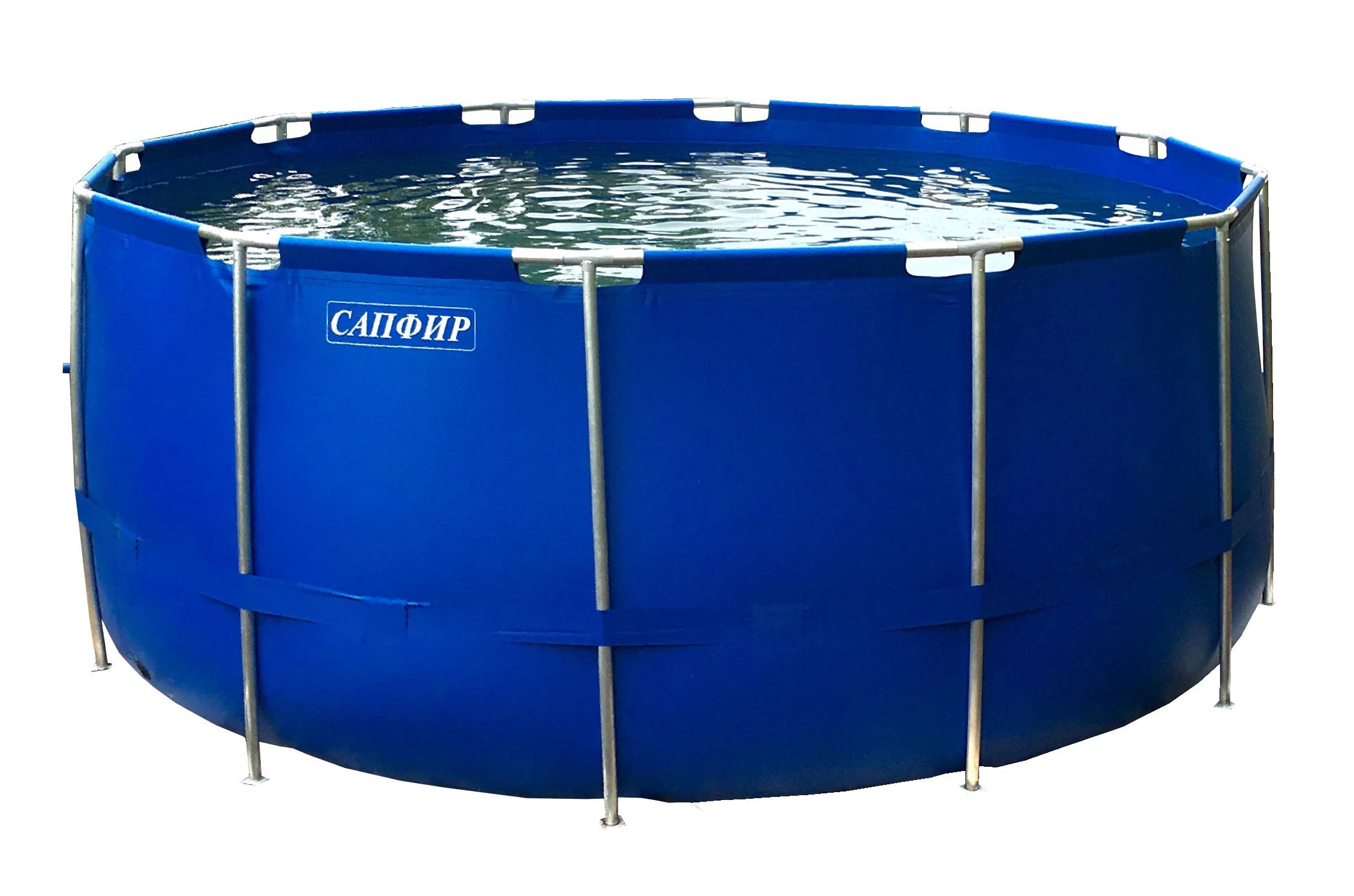 Каркасный бассейн САПФИР круглый 2,3х1,2м|Пластиковые и портативные тазы| | АлиЭкспресс