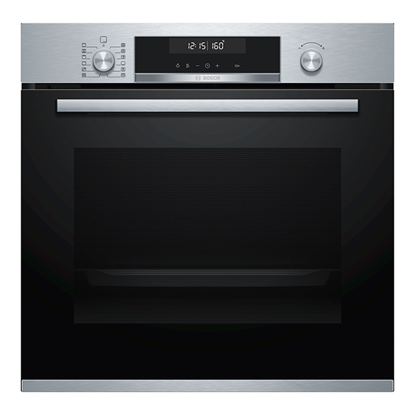 Pyrolytic Oven BOSCH HBG5780S0 71 L 3600W A Black Stainless steel|Ovens|   - title=