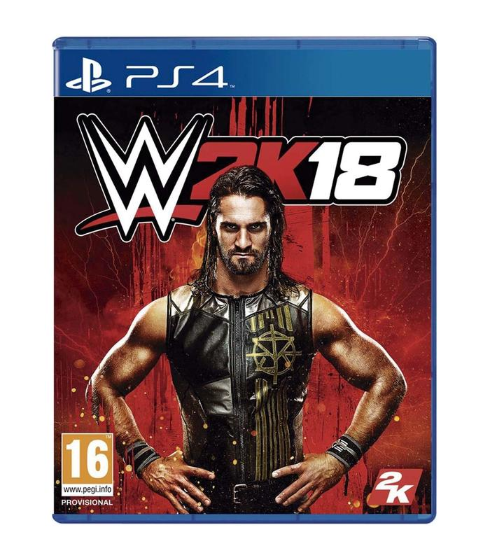 Wwe 2k18 Ps4 Playstation 4 Games Take 2 Games Age 16 + image
