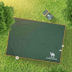 Image 3 - Kameel Nieuwe Outdoor Strand Picknick Folding Camping Mat Strand Deken Reizen Waterdichte Pad 200*220 Cm