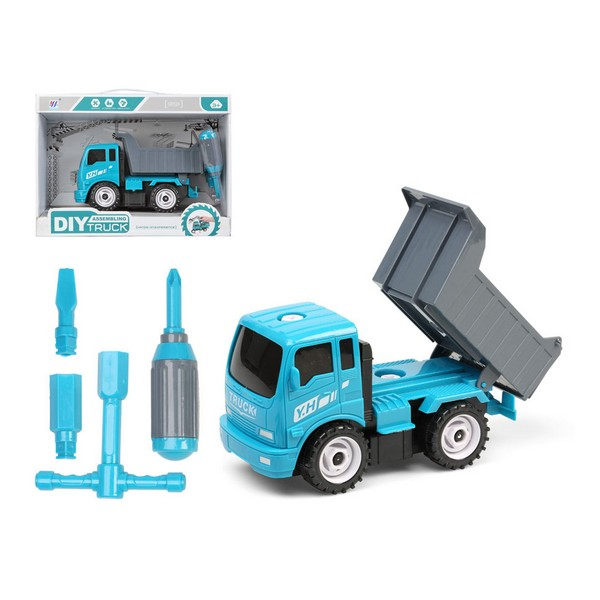 Construction Vehicles Diy Tipper Truck Blue 112589