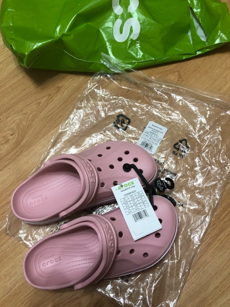 CROCS Bayaband Clog UNISEX for male, for female, men's clogs, women's clogs TmallFS shoes rubber slippers|Beach & Outdoor Sandals|   - AliExpress