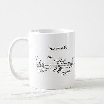 pilot How Planes Fly Coffee Mug: Pilot Mug, Pilot Gift, Airplane Mug, Co-Pilot Gift, aviation Gifts, Plane, Mug, Mug for Pilot, 11 self