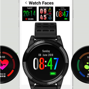 Image 3 - Accalia Smart Watch Heart Rate Monitor Waterproof sport watch smart bracelet Fitness tracker smart band