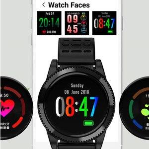 Image 3 - Accalia ساعة ذكية مراقب معدل ضربات القلب للماء الرياضة ووتش سوار ذكي جهاز تعقب للياقة البدنية الذكية الفرقة
