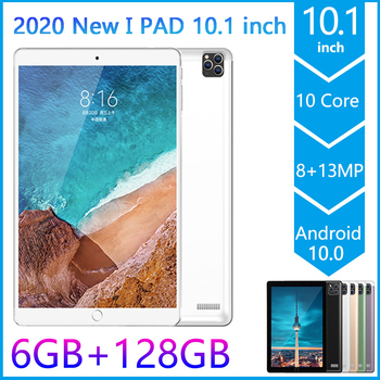 2020 Hot PG11 Pad 10.1 inch Tablet Pc Android 10.0 6GB+128GB 10-Core Tablets MTK6797 4G LTE Dual SIM Card Phone Call Tablets Pc 10 1 inch official original 4g lte phone call google android 7 0 mt6797 10 core ips tablet wifi 6gb 128gb metal tablet pc
