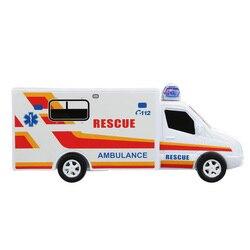 Ambulancia para niños con sonido plástico