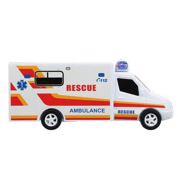 Children Car Ambulance With Sound PLASTIC