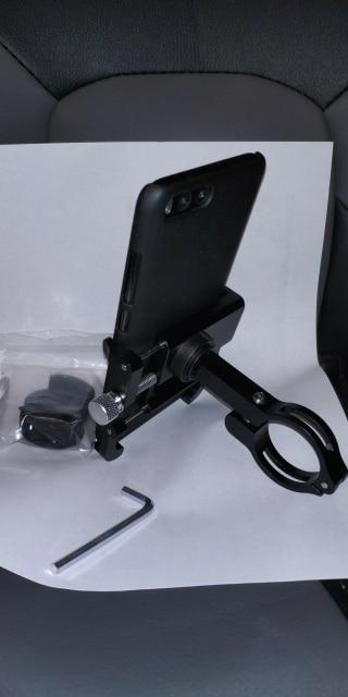 Support rotatif pour moto ou vélo en métal pour téléphone