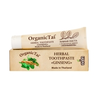 Organic Tai toothpaste with natural herbs ginseng, 100g Prosthetic Whitening Essence Oral Hygiene Serum Remove Dental Stains Teeth Whitening Toothpaste.