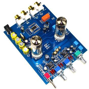 Taidacent HIFI Bile Preamplifier 6J5 Tube Bile Preamp 470UF DC12V Fever QCC3008 APTX 5.0 Bluetooth Tube Preamp NE5532 Tone Board