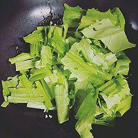 豆豉油麦菜的做法图解4