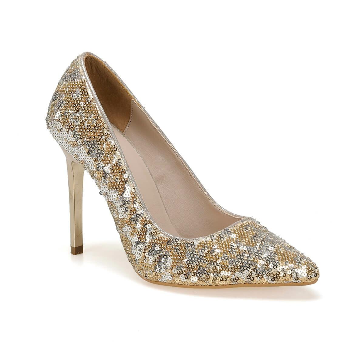 FLO 19SF-190805Y JAPANNED LEATHER Gold Women 'S Shoes BUTIGO