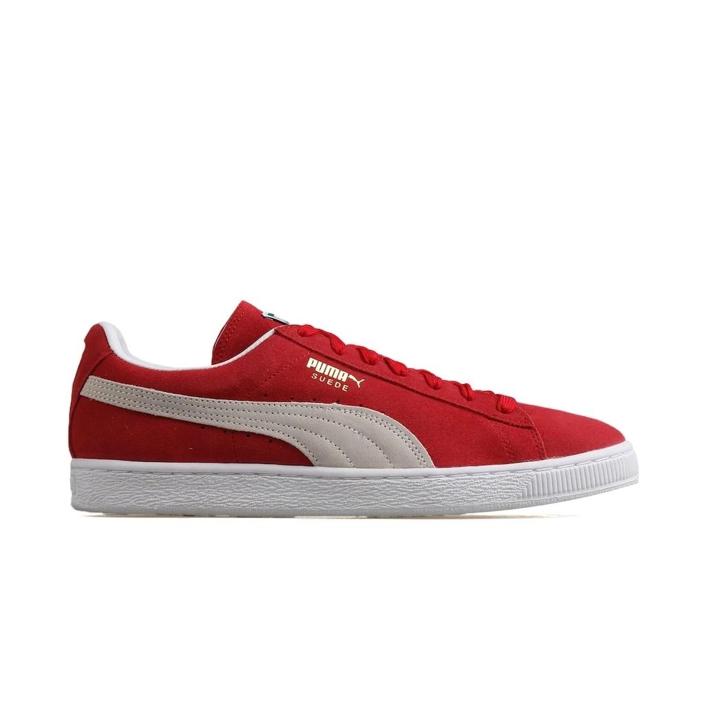 Puma rouge chaussure homme 35263405 daim classique