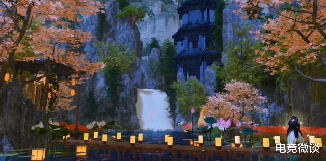 一梦江湖:住在山里真不错,以山为居的家园让无数玩家为之心动?插图(5)