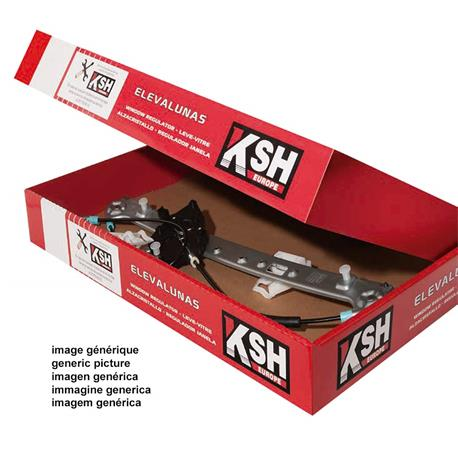 Window lifter KSH-1830.0030240 SEAT LEON I, TOLEDO II 03/99-08/05 4 P/DER without engine, Electric