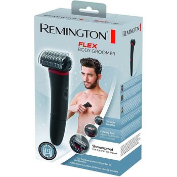Remington Men Body Hair Trimmer Wireless Flex Electric Shaver Rechargeable Machine Body Hair Removal Groomer BHT100 Wet Dry Fast недорого