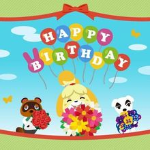 Animal Crossing: New Horizons | BIRTHDAY SET | VERY CHEAP AND FAST DELIVERY