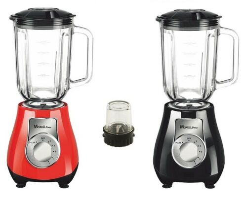 Blender WITH ELECTRIC GRINDER 500W PITCHER 1 5L GLASS COLOR WARANTY MP BV105XL|Food Mixers| |  - title=