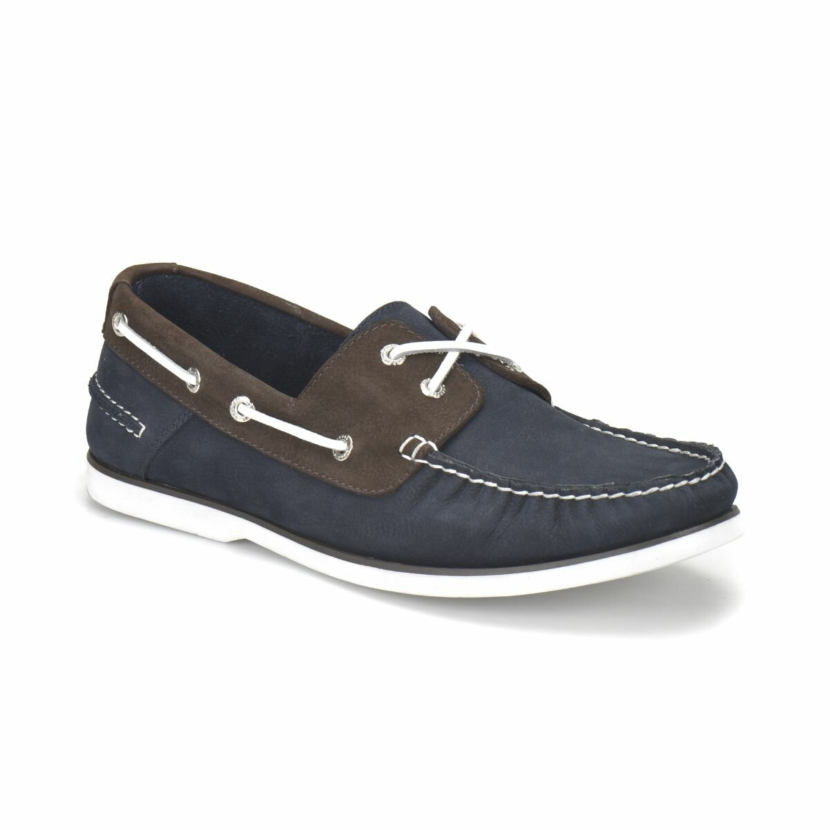 FLO 71151-1 Black Male Shoes Oxide