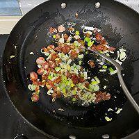 酱油腊肠炒饭的做法图解7