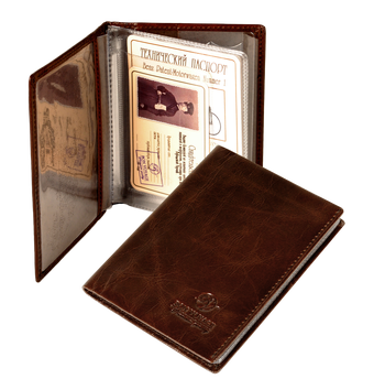 Bon Voyage Unisex Vintage Auto Driver License Cover Holder For Car Driving Documents Made Of Genuine Leather 1