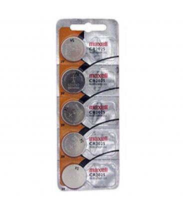 Pilas De Boton Maxell Bateria Original Litio CR2025 3V En Blister 5X Unidades