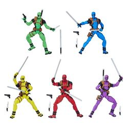 Marvel Legends Deadpool (Pack of 5 figures) Hasbro