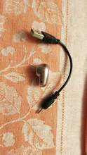 For such money, the earphone is good. Easy, does not fall out. With the phone, it goes qui