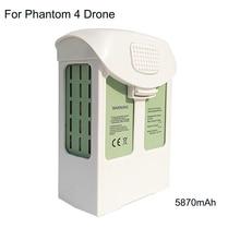 15.2V 5870mAh Battery For DJI Phantom 4 Drone Replacement LiPo Battery Pack For DJI Phantom 4/Advanced/4Pro FPV Quadcopter RC dji phantom 4 pro battery phantom 4 series advanced intelligent flight battery original accessories 5870 mah high capacity